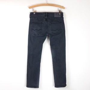 American Eagle Slim Straight Black Jeans 30 x 30